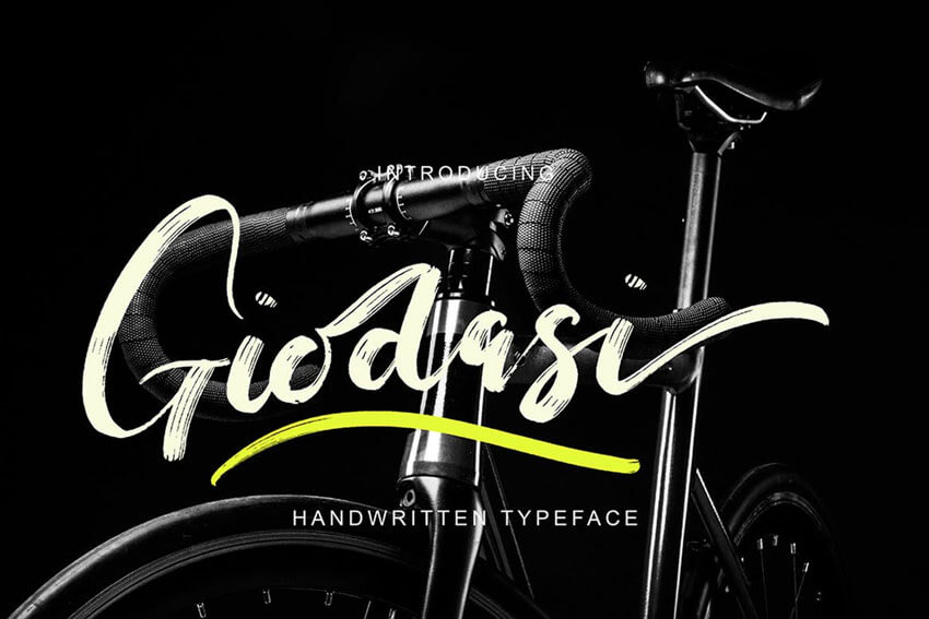 Giodasi-Font-Hand-written-typeface
