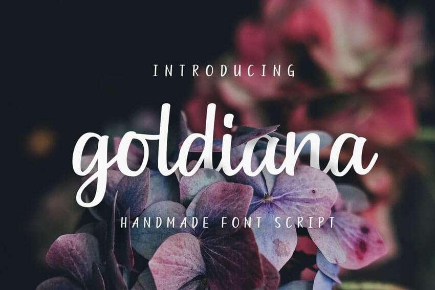 Goldiana-Hand-Made-Font-Script
