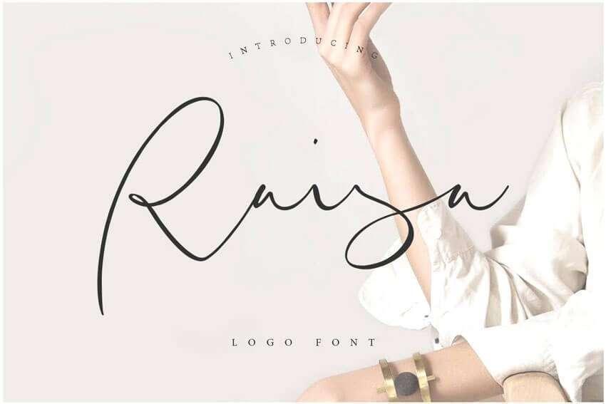 Raisa-Logo-Font