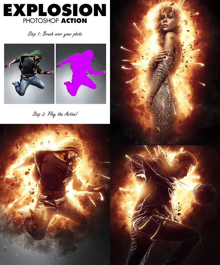 free download explosion-photo-effect-psd-actoin