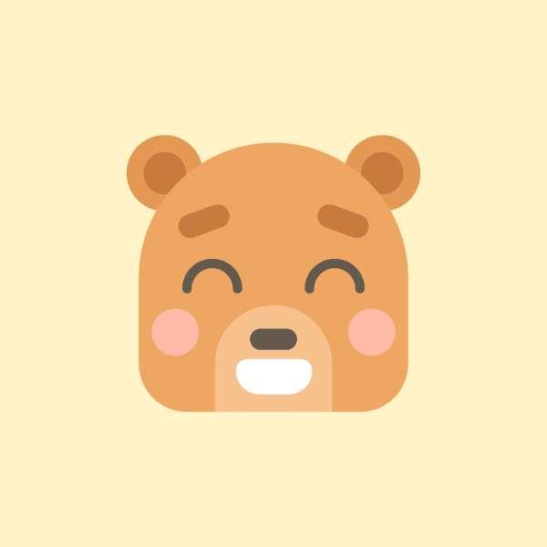 Membuat Icon Flat Design Character Beruang di Adobe Illustrator