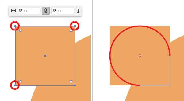 Membuat Icon Flat Design Character Beruang tahap 03