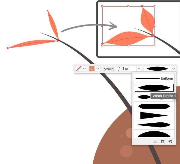 Membuat Jamur Flat Design Vector di Adobe Illustrator 10