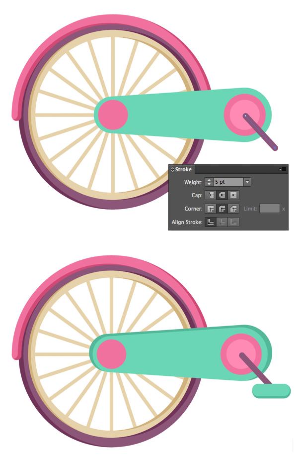 Tahap 10-flat-bicycle-wheels