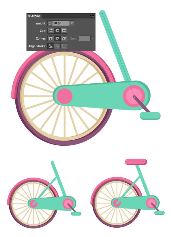 Tahap 11-flat-bicycle-wheels