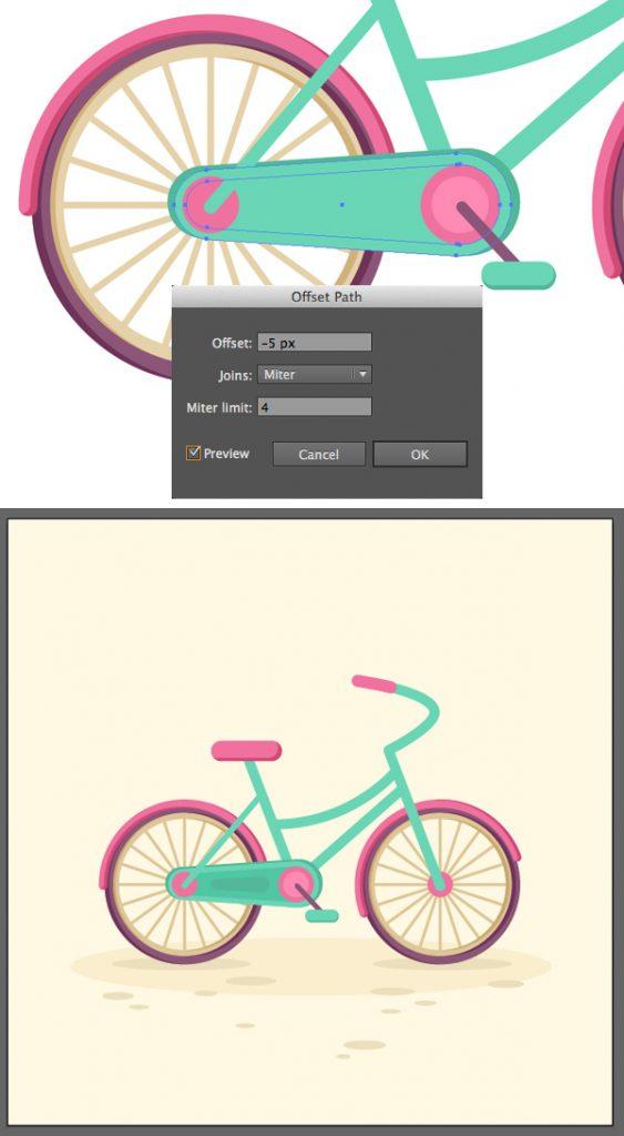 Tahap 15-flat-bicycle-wheels
