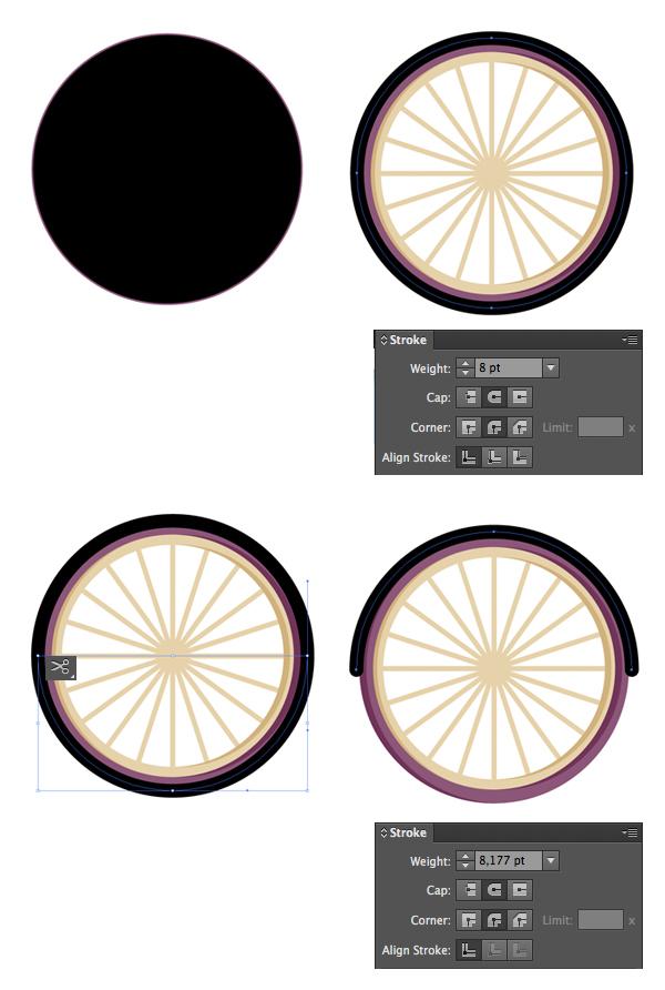 Tahap 6-flat-bicycle-wheels