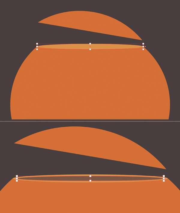 Tutorial Flat Design Vektor Halloween Pumpkin 04