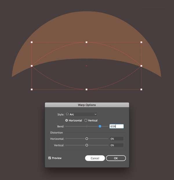 Tutorial Flat Design Vektor Halloween Pumpkin 06