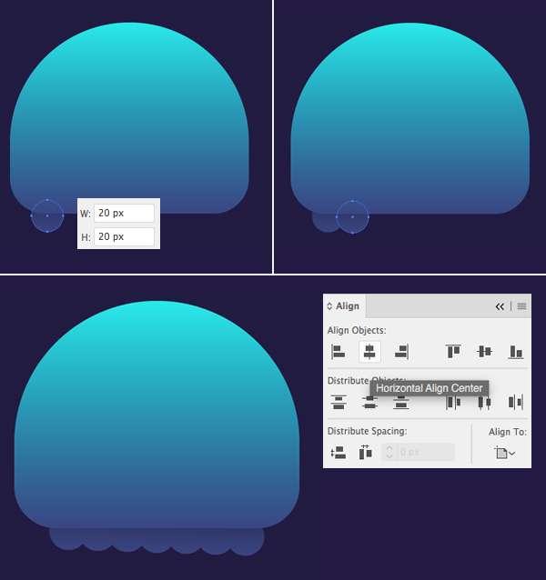 Tutorial Karakter Design Tahap 4-jellyfish