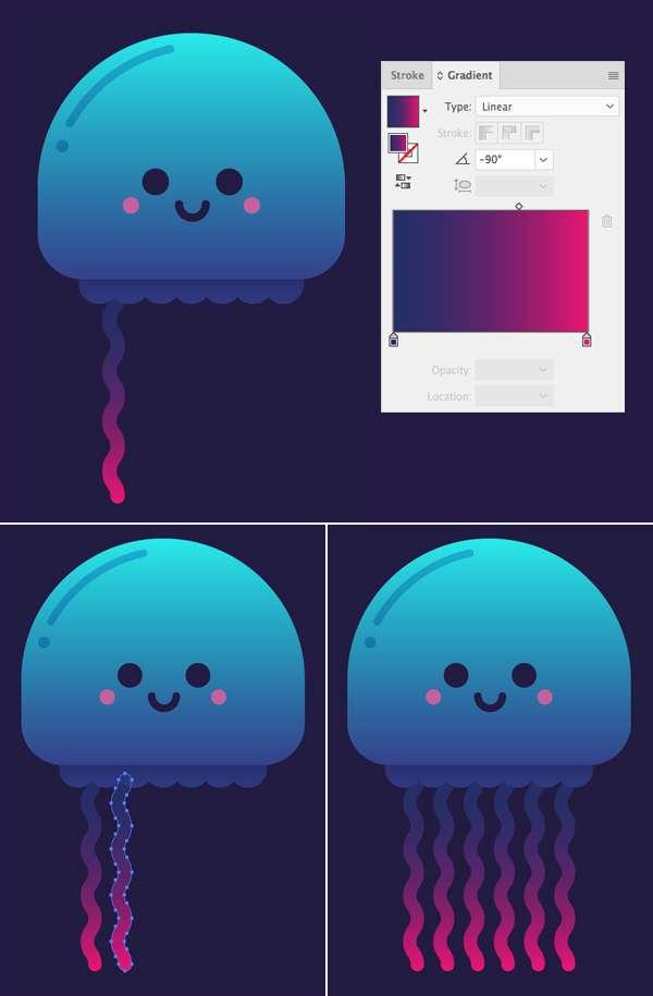 Tutorial Karakter Design Tahap 9-jellyfish