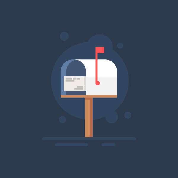 Tutorial Membuat Icon Flat Design Kotak Surat di Adobe Illustrator