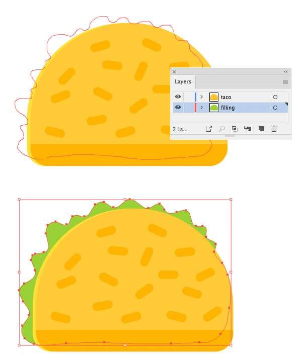 Tutorial-Membuat-Ikon-Taco-Flat-Design-05