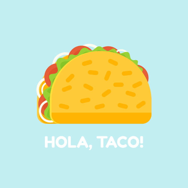 Tutorial Membuat Ikon Taco Flat Design di Adobe Illustrator