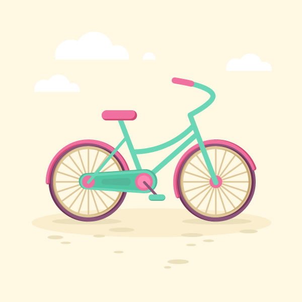 Tutorial flat-bicycle-wheels600