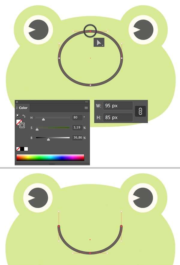 menggambar-character-flat-design-kodok-di-adobe-illustrator 7