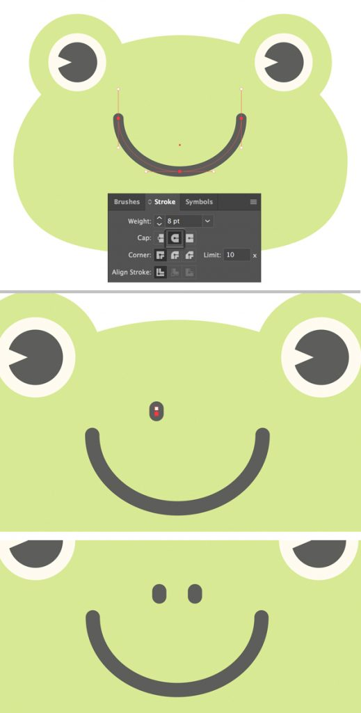menggambar-character-flat-design-kodok-di-adobe-illustrator 8