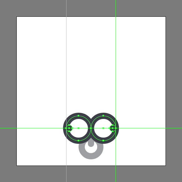 Tutorial Ikon Flat Design Kunci Kuno di Adobe Illustrator 05