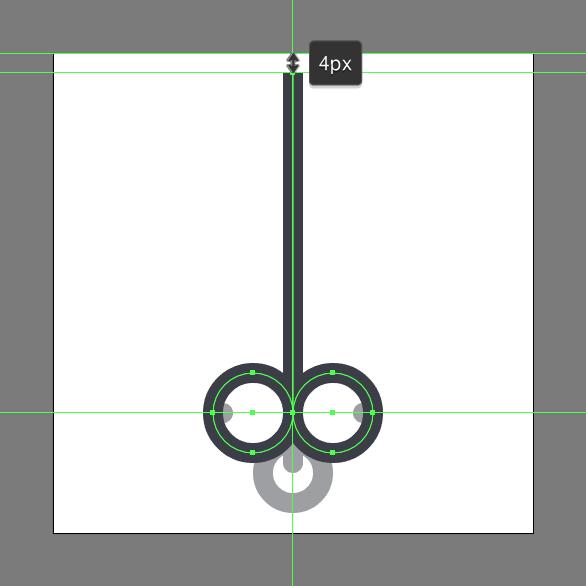 Tutorial Ikon Flat Design Kunci Kuno di Adobe Illustrator 06