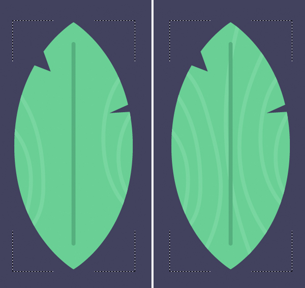 Tutorial Membuat Daun Flat Design 08 di Adobe Illustrator CC