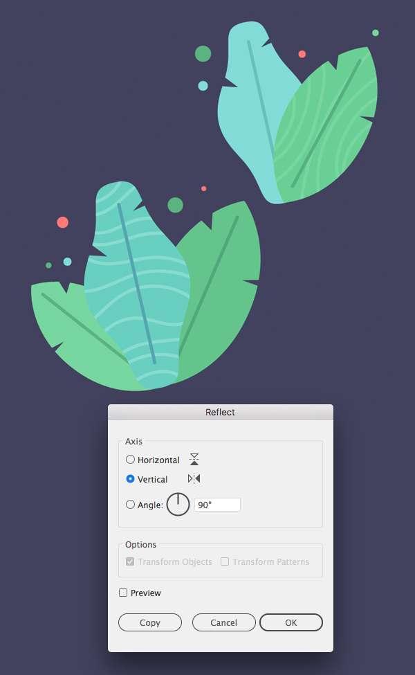 Tutorial Membuat Daun Flat Design 09 di Adobe Illustrator CC
