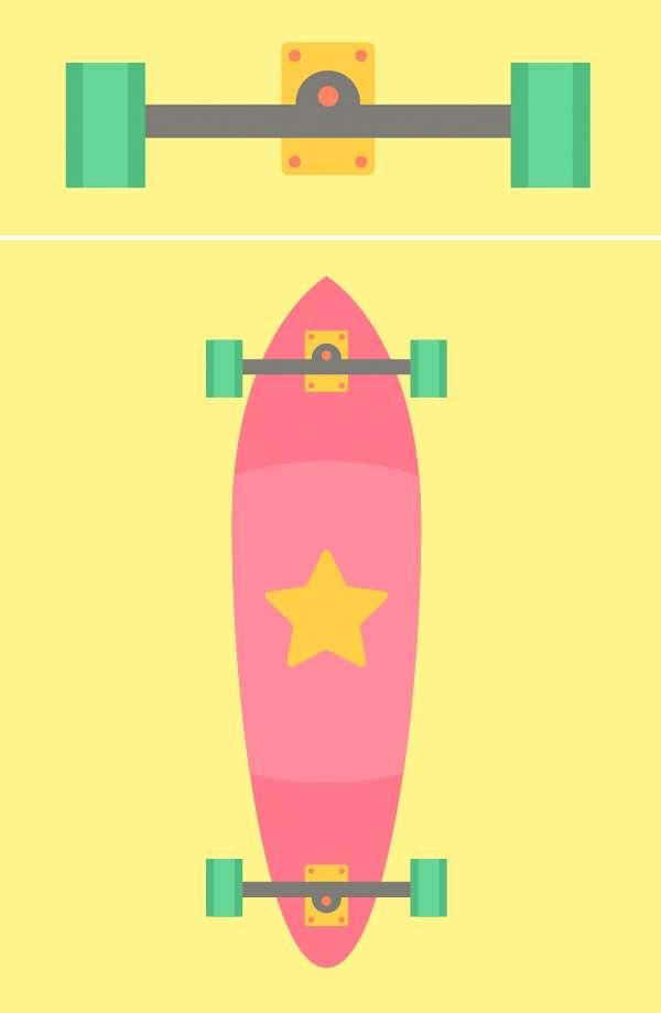 Tutorial Membuat Flat Design Skateboards Menggunakan Adobe Illustrator 05
