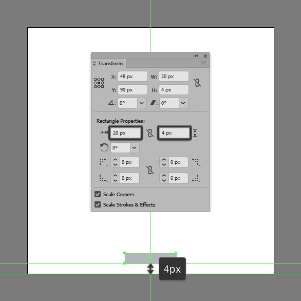 Tutorial Membuat Ikon Baterai di Adobe Illustrator CC 02