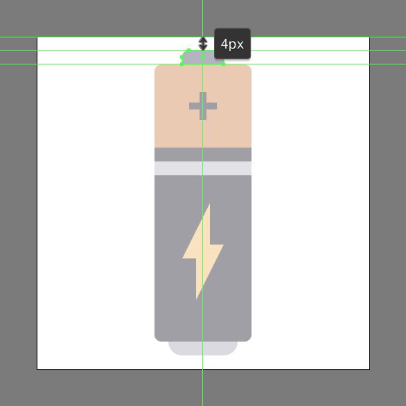 Tutorial Membuat Ikon Baterai di Adobe Illustrator CC 10