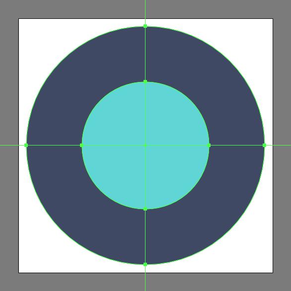 Tutorial Membuat Ikon Emoji Bumi di Adobe Illustrator CC 03