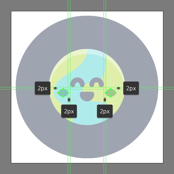 Tutorial Membuat Ikon Emoji Bumi di Adobe Illustrator CC 11