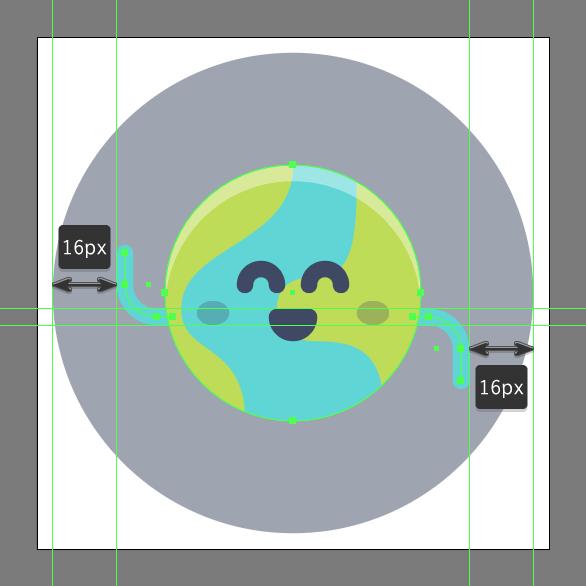 Tutorial Membuat Ikon Emoji Bumi di Adobe Illustrator CC 12