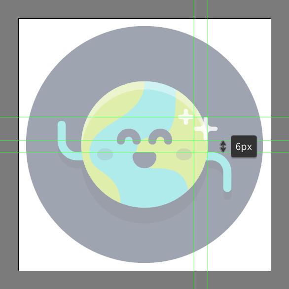 Tutorial Membuat Ikon Emoji Bumi di Adobe Illustrator CC 14