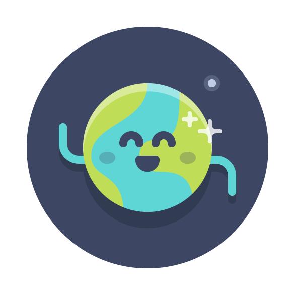 Tutorial Membuat Ikon Emoji Bumi di Adobe Illustrator CC