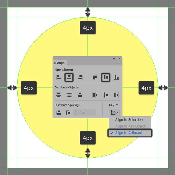 Tutorial Membuat Ikon Flat Design Energi Alam di Adobe Illustrator 02