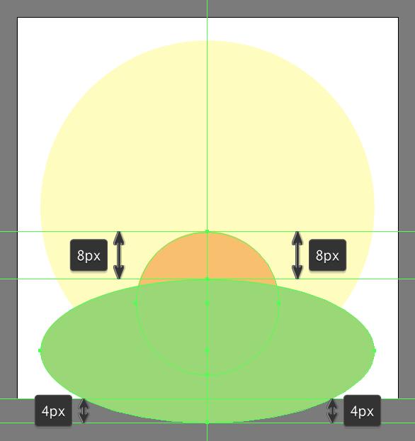 Tutorial Membuat Ikon Flat Design Energi Alam di Adobe Illustrator 04