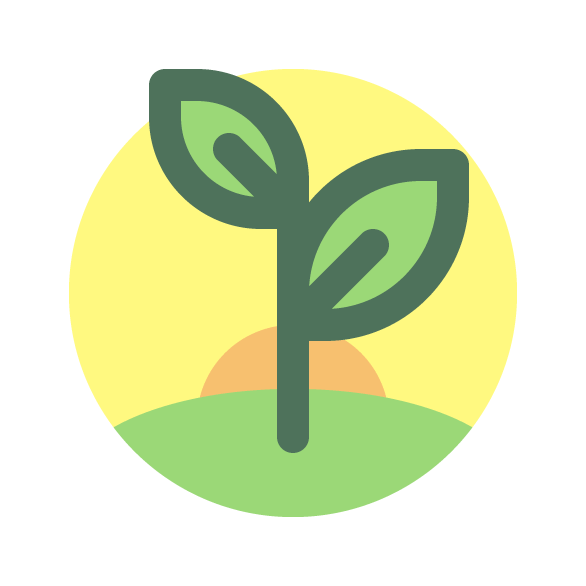 Tutorial Membuat Ikon Flat Design Energi Alam di Adobe Illustrator