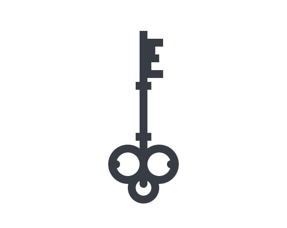 Tutorial Membuat Ikon Flat Design Kunci Kuno di Adobe Illustrator CC