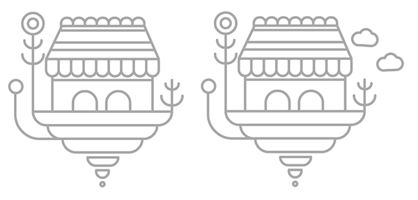 Tutorial Membuat Ikon Flat Design Vektor Bangunan Bergaya Fantasi 04