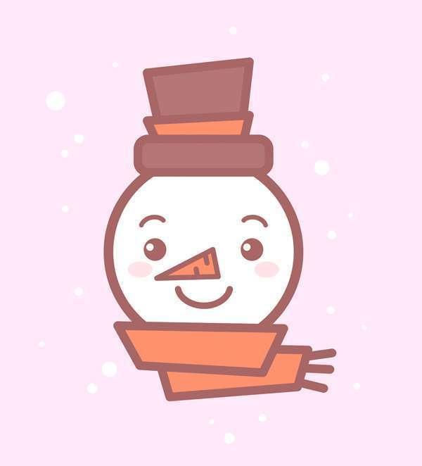 Tutorial Membuat Ikon Karakter Snowman di Adobe Illustrator 13