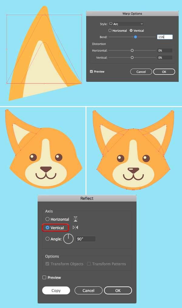 Tutorial Membuat Logo Karakter Serigala di Adobe Illustrator CC 11