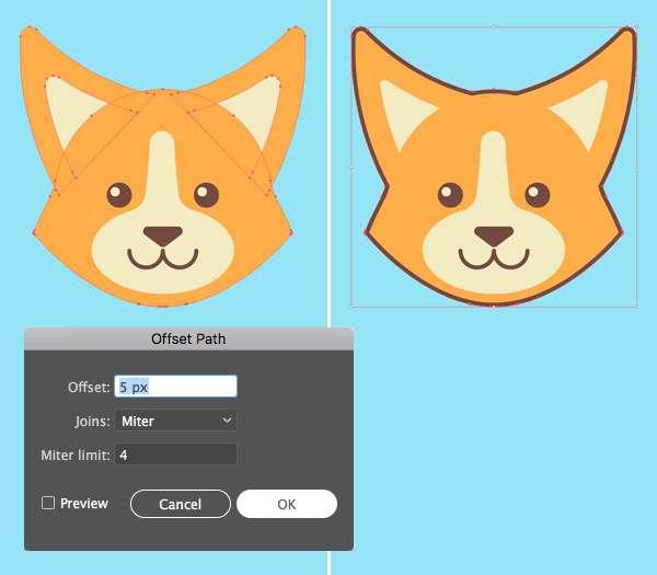 Tutorial Membuat Logo Karakter Serigala di Adobe Illustrator CC 12