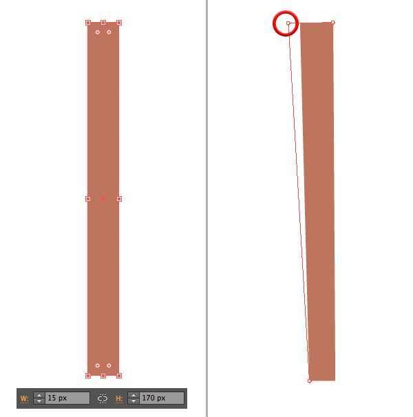 Tutorial Menggambar ilustrasi Vektor Bangunan Flat Design 01