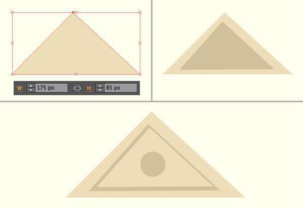 Tutorial Menggambar ilustrasi Vektor Bangunan Flat Design 05