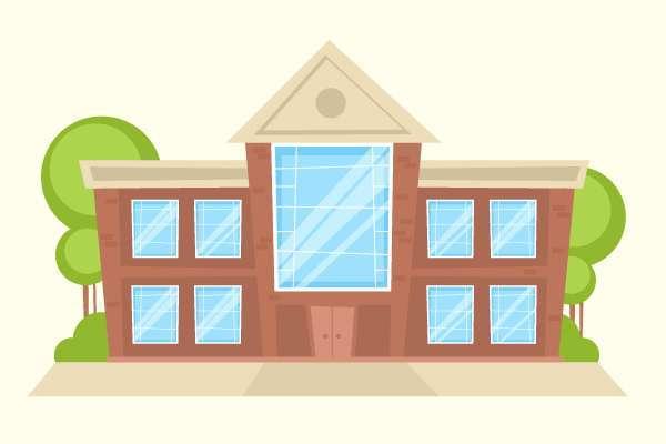 Tutorial Menggambar ilustrasi Vektor Bangunan Flat Design di Adobe Illustrator CC