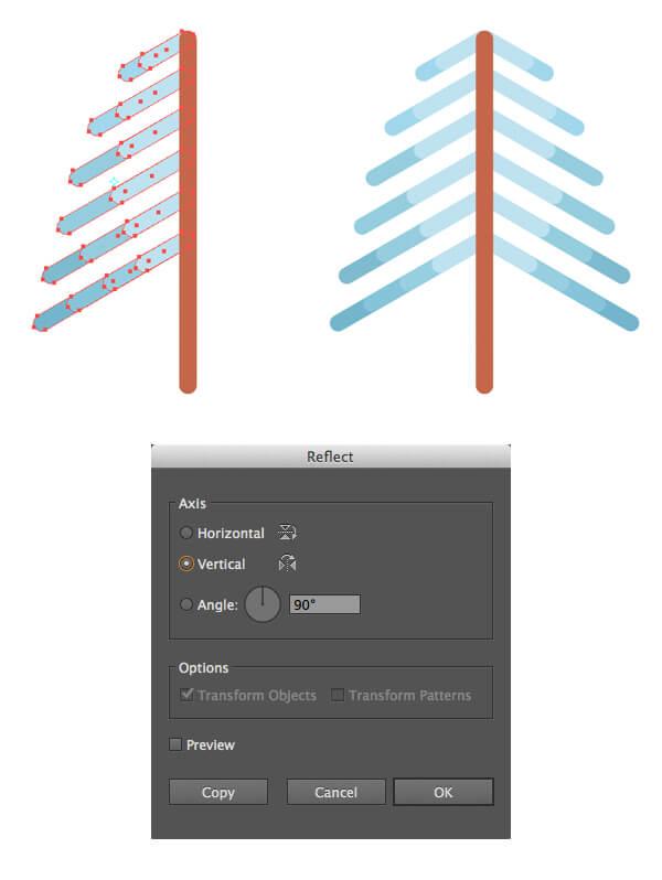 Tutorial Membuat Flat Design Musim Dingin di Adobe Illustrator CC 05
