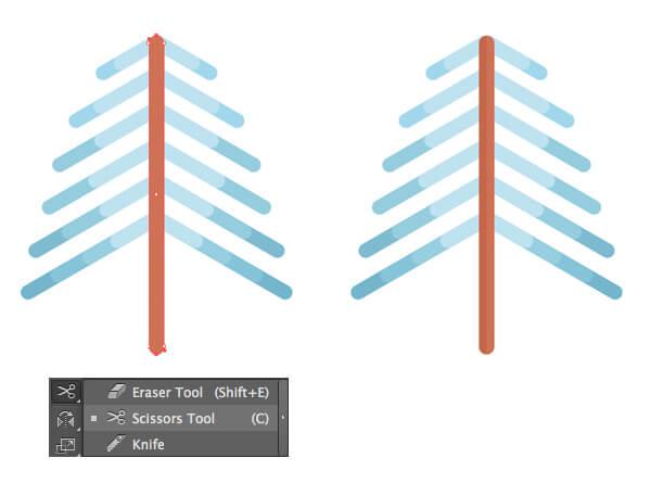 Tutorial Membuat Flat Design Musim Dingin di Adobe Illustrator CC 06