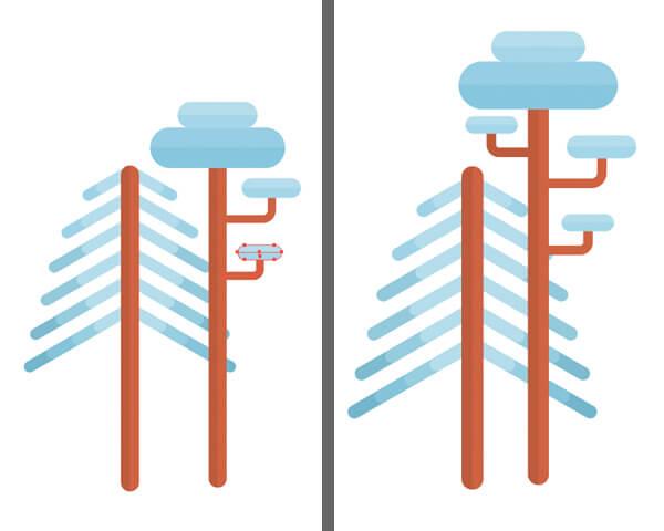 Tutorial Membuat Flat Design Musim Dingin di Adobe Illustrator CC 11