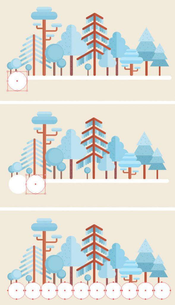 Tutorial Membuat Flat Design Musim Dingin di Adobe Illustrator CC 24