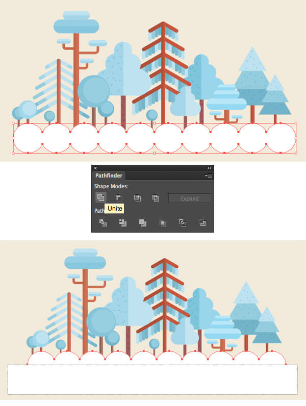 Tutorial Membuat Flat Design Musim Dingin di Adobe Illustrator CC 25
