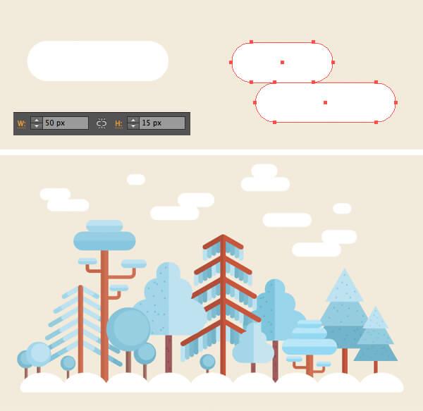 Tutorial Membuat Flat Design Musim Dingin di Adobe Illustrator CC 27